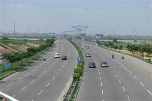 DND Flyway to Rush in Poor Visibility Gets Unique Solar Flashers and Delineators