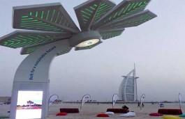 'Smart' Palm Trees to Power Dubai