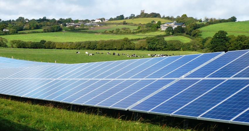 Gloucestershire Solar Plant