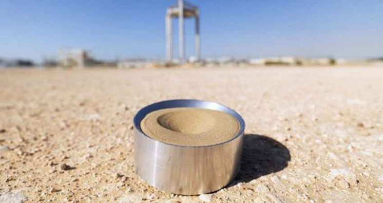 Sand Particles can be used for Solar Energy