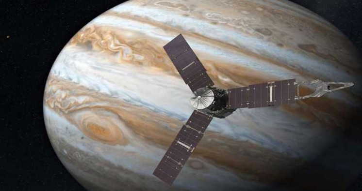Solar Powered Juno Spacecraft to Make Multiple Histories