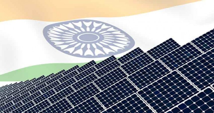 India Reaches ambitious 5,000 MW of Solar Power Installed Capacity