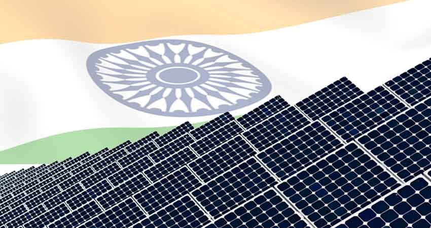 indian reaches solar power