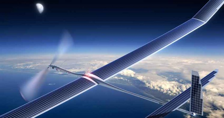 Google to bring 5G Services through Solar Drones