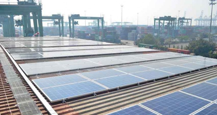 APM Terminals Establishes Solar Power Plants in Mumbai Terminal