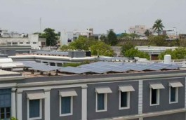 India's First Fully Solar Powered Educational Institute in Puducherry