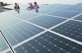 Massive Solar Power Plant of Adani starts Power Transmission