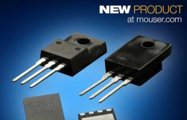 Mouser is now offering gallium nitride (GaN) solutions from Panasonic