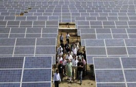 India's Solar Initiative seems already Sunny