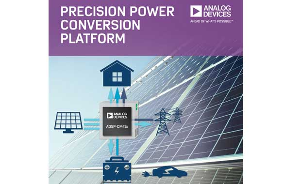 Analog Devices unveils ADSP-CM41x and ADSP-CM40x mixed-signal control processors