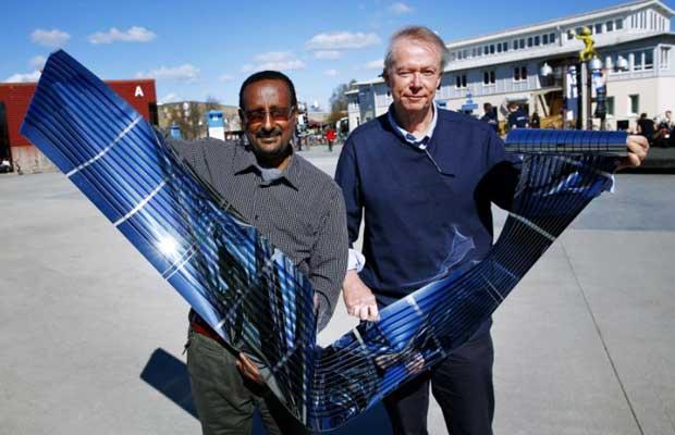 Fullerene-free Polymer solar cells manufactured