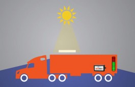 Purkey develops solar-charging system for heavy-duty vehicles