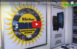 Solar Business Is Very Viable and Green: Kartik Sachdev, Marketing Head Solar- Su-Kam