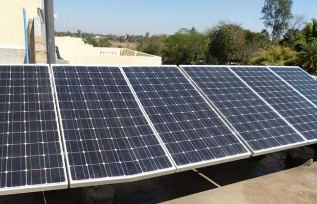First rooftop solar energy