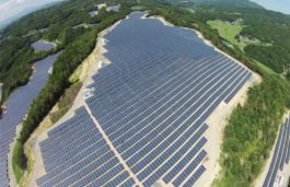 GE Energy Financial Services connects 32 MW PV mega-solar project in Okayama Prefecture, Japan