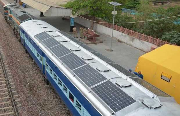 Indian Railways Solar