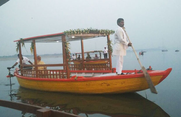 PM Modi launches 11 solar-powered e-boats in Varanasi