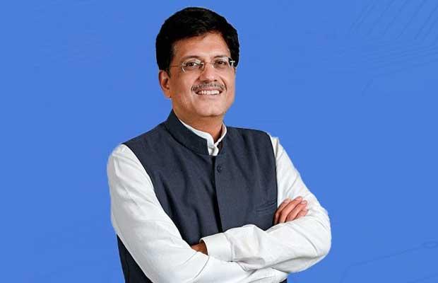 Piyush Goyal in Rajaya Sabha
