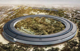 Apple reportedly planning to sell solar power generated by its spaceship campus