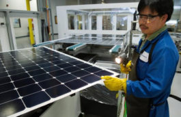 SunPower sets a new solar power panel efficiency record of 24.1 percent