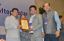 Vikram Solar bags National Excellence Award 2016 for Roof Top Solar Power Projects