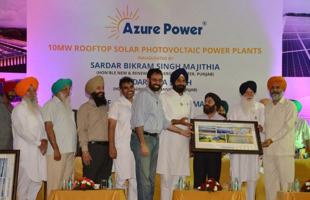 Azure Power installs 10MW rooftop solar PV project