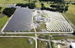 Duke Energy's 15,000 solar panels in Osceola County is now providing carbon-free energy