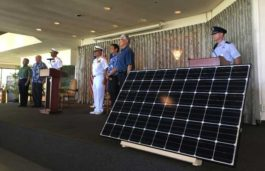 Hawaiian Electric with Navy to build a 20MW solar facility at the Joint Base Pearl Harbor-Hickam