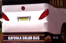 Uganda Debuts Solar-Powered Bus
