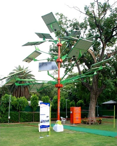 Solar Power Tree launched