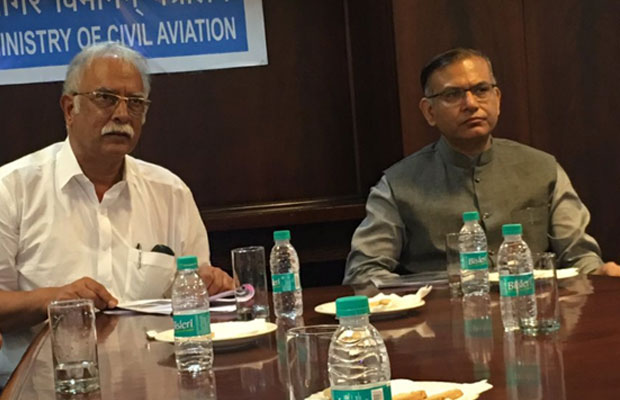 Union Minister of Civil Aviation Ashok Gajapathi Raju