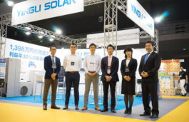 "Yingli Energy connects a 50 megawatt (MW) ""Top Runner"" project in China to the grid"