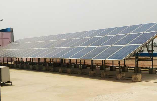 CPWD installs solar panels