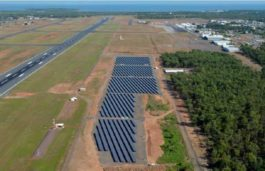 Darwin International Airport completes its first phase of 5.5MW solar farm