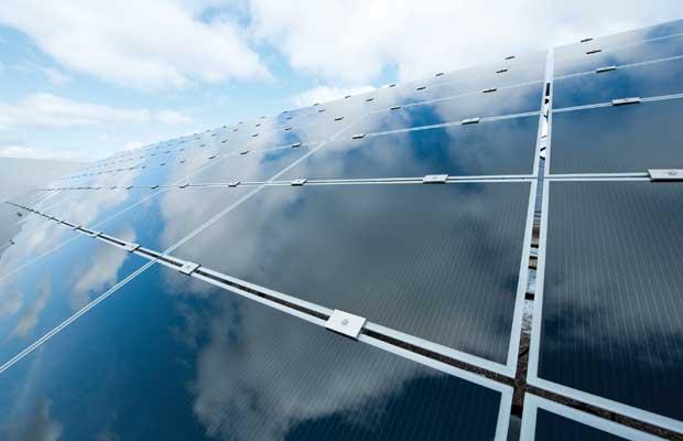 First solar panels