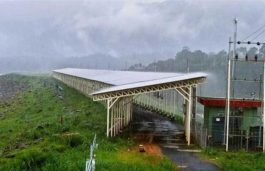 Kerala State Electricity Board's solar panel atop dam gets ready