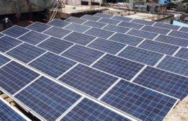 Orb Energy installed and commissioned a 200kw rooftop solar system in Andhra Pradesh