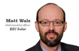 REC Solar appoints Matt Walz, a Duke Energy executive as chief executive officer
