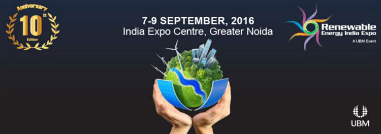 Renewable Energy India 2016