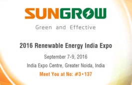 Sungrow to release new inverters at Renewable Energy India Expo (REI Expo)