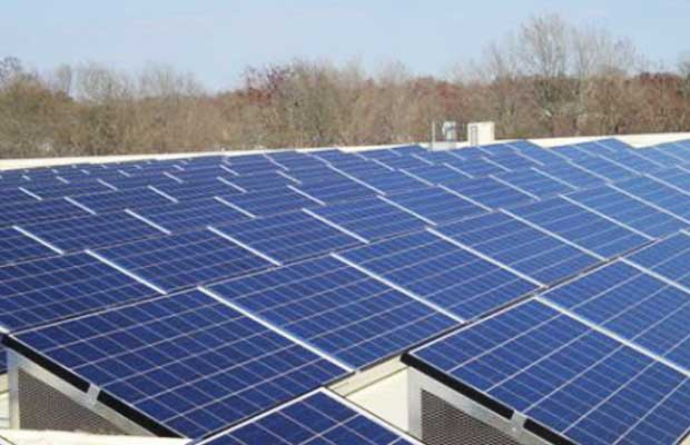 solar panels at Army residential