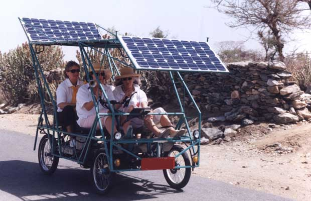 solar powered vehicles