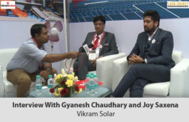 Interview With Gyanesh Chaudhary and Joy Saxena Vikram Solar