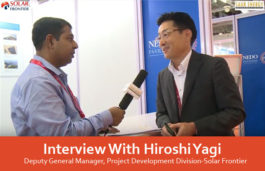 Interview With Hiroshi Yagi, Deputy General Manager, Project Development Division-Solar Frontier