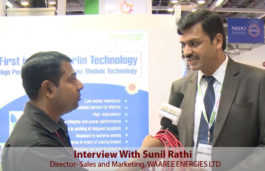 Interview With Sunil Rathi -Director- Sales and Marketing, WAAREE ENERGIES LTD