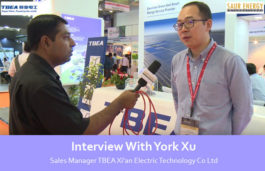 Interview With York Xu Sales Manager TBEA Xi'an Electric Technology Co Ltd