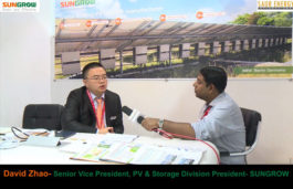 Interview with David Zhao, Senior Vice President, PV & Storage Division President- SUNGROW