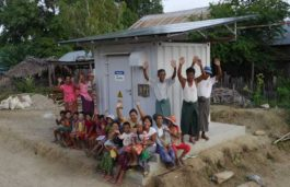 "Panasonic Provides ""Power Supply Station"" to Off-Grid Areas in Myanmar"