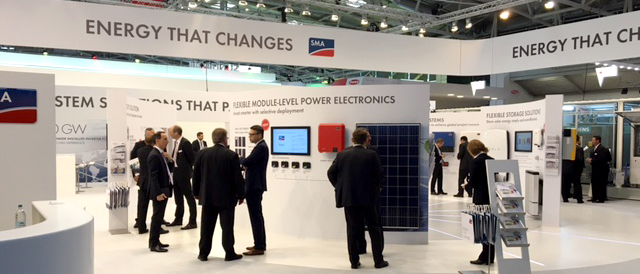 SMA to showcase new products and PV