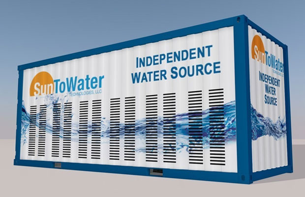 Solar-Powered Water Generation Technology